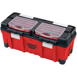 Draper Expert 660mm Tool Box with Organisers and Tote Tray