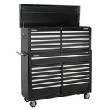 Sealey AP52COMBO2 23 Drawer Combination Tool Chest (Black)