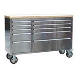 Sealey AP5510SS Mobile 10 Drawer Stainless Steel Cabinet