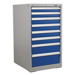 Sealey API5658 Premier Industrial 8 Drawer Mobile Cabinet