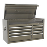 Sealey PTB104008SS 8 Drawer 1055mm Stainless Steel Topchest