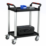 Barton Utility Tray Trolley - 2 Shelves
