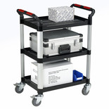 Barton Utility Tray Trolley - 3 Shelves