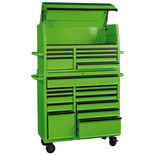 "Draper 42"" Tool Chest (7 Drawer) and 42"" Roller Cabinet (12 Drawer)"