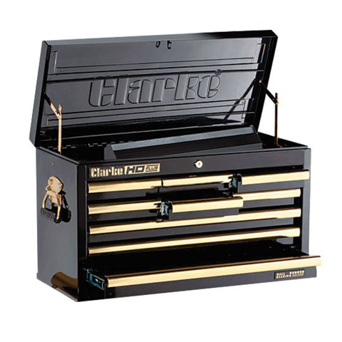 Image of Clarke Clarke CBB209BGB HD Plus 9 Drawer Tool Chest (Black & Gold)