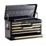 Clarke CBB209BGB HD Plus 9 Drawer Tool Chest (Black & Gold)