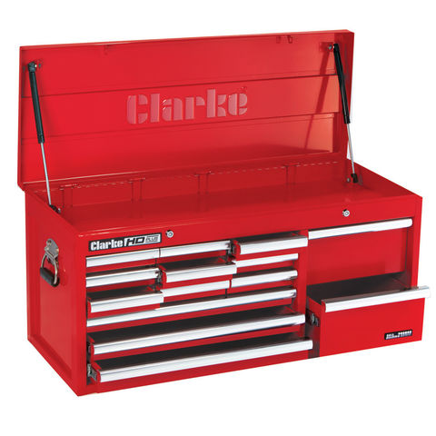 Image of Clarke Clarke CBB224B Extra large HD Plus 14 Drawer Tool Chest
