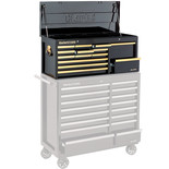 Clarke CBB224BGB Extra Large HD Plus 14 Drawer Tool Chest (Black & Gold)