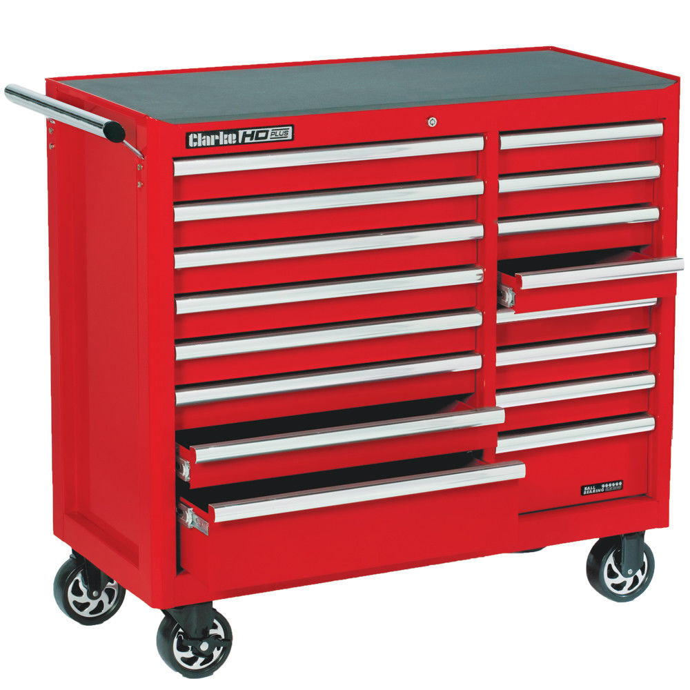 Clarke CBB226B HD Plus 16 Drawer Tool Cabinet - Machine Mart ...