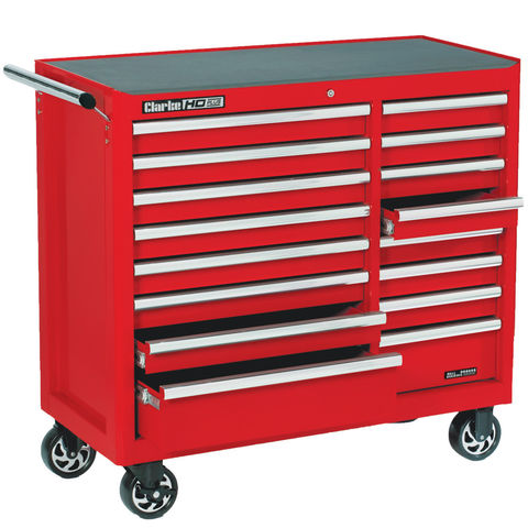 Image of Clarke Clarke CBB226B HD Plus 16 Drawer Tool Cabinet