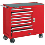 Clarke CBB228B Extra Wide HD Plus 8 Drawer Tool Cabinet with Side Door