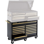 Clarke CBB230BGB Extra Large HD Plus 13 Drawer Tool Cabinet (Black & Gold)