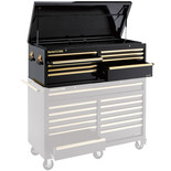 Clarke CBB231BGB Extra Large HD Plus 9 Drawer Tool Chest (Black & Gold)