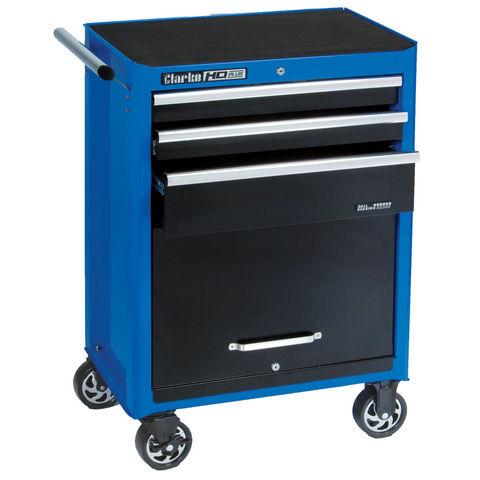 Clarke Clarke CBI130B HD Plus 3 Drawer Tool Cabinet (Blue Line)