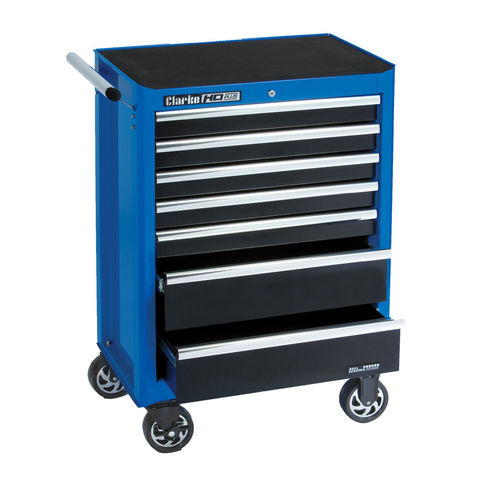 Image of Clarke Clarke CBI170B HD Plus 7 Drawer Tool Cabinet (Blue Line)