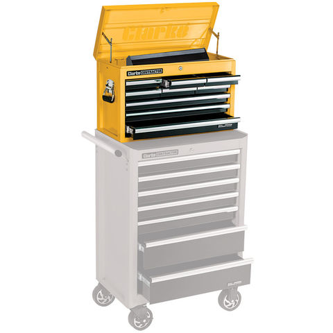 Image of Clarke Contractor Clarke Contractor CC190B 9 Drawer Tool Chest