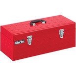 "Clarke CTB24D 24"" Diamond Plate Steel Toolbox"