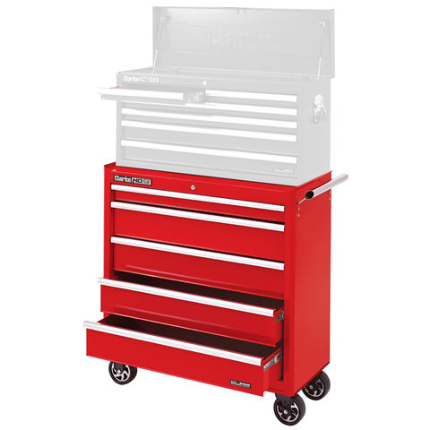 Image of Clarke Clarke CBB315 Large Heavy Duty 5 Drawer Mobile Tool Cabinet