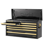 Clarke CBB306BG Large Heavy Duty 6 Drawer Tool Chest (Black & Gold)