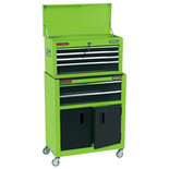 "Draper RCTC6/G 24"" Combined Roller Cabinet and Tool Chest (6 Drawer)"