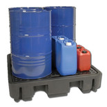 Armorgard DBP4 4 Drum Spill Pallet For Armorgard DB4