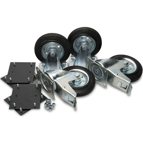 "Image of Machine Mart Xtra Armorgard 6"" Castors (Supplied With Fittings)"