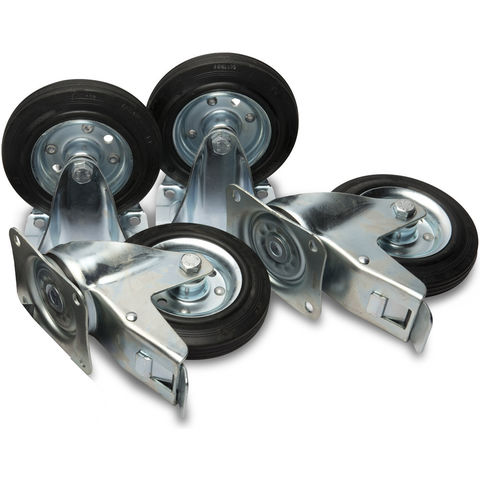"Image of Machine Mart Xtra Armorgard 6"" Castors (Factory Fitted)"