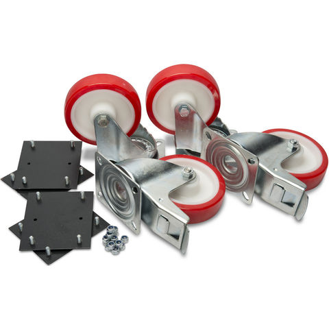 "Image of Machine Mart Xtra Armorgard 6"" Heavy-Duty Castors (Supplied With Fittings)"
