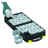 Topstore QOC/2/5 Assortment Cases with 18 Compartments (5 Pack)