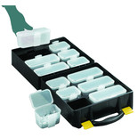 Topstore QOC/3/5 Assortment Cases with 12 Compartments (5 Pack)