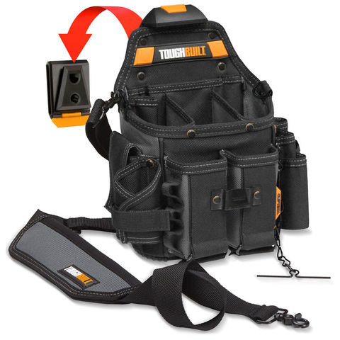 Image of Olympia Tools Olympia ToughBuilt Journeyman Electrician Pouch + Shoulder Strap
