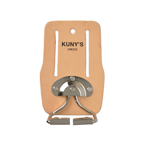 Kunys Kunys Top Grain Leather Snap In Hammer Holder
