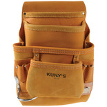 Kuny's Full Grain Leather Nail and Tool Pouch