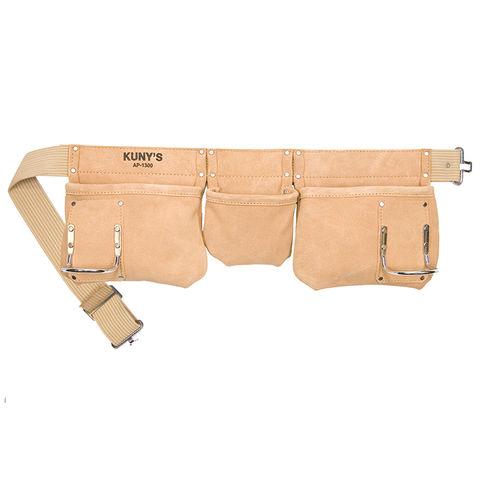 Kunys Kunys 3 Pocket Leather Carpenters Apron