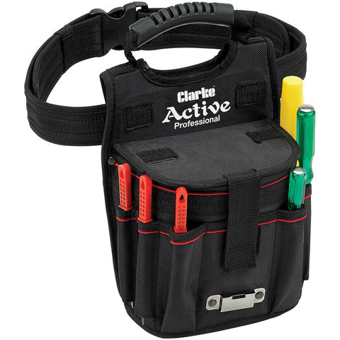 New Clarke Cht785 Tool Holder With Waist Belt