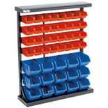 Clarke CSR47 Single Sided 47-Bin Storage Rack