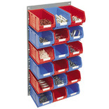 Topstore 18 Bin Storage Kit 547 x 946mm