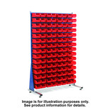 Topstore MSS1.5 Spacemaster TC Single Sided Bin Kit 60 x TC3 Red 011516B