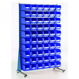 Topstore MSS1.5 Spacemaster TC Single Sided Bin Kit 60 x TC3 Blue 011516C