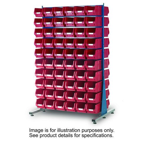 Image of Machine Mart Xtra Barton Storage 011524B MDS1.5 Spacemaster Double Sided Starter Kit With 240 TC2 Bins