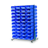 Topstore MDS1.5 Spacemaster TC Double Sided Bin Kit 80 x TC4 Blue 011528C