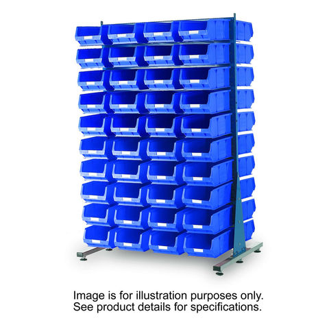 Image of Machine Mart Xtra Barton Storage 011530C MDS1.5 Spacemaster Double Sided Starter Kit With 56 TC5 Bins