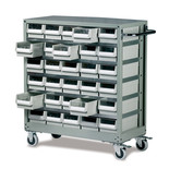Barton Topdrawer Trolley - 30 Drawers