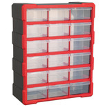 Sealey APDC18R 18 Drawer Cabinet - Red/Black