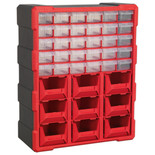 Sealey APDC39R 39 Drawer Cabinet - Red/Black