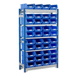 Barton Toprax Standard Initial Bay with 40 TC4 Bins & 5 Shelves