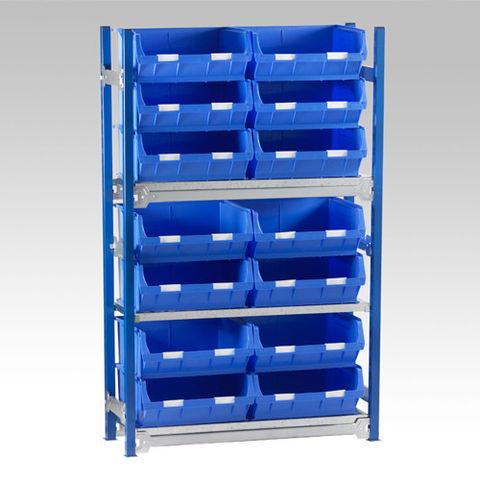Image of Machine Mart Xtra Barton Toprax Standard Initial Bay with 14 TC6 Bins & 3 Shelves