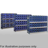 Barton Toprax Longspan Double Initial Bay with 144 TC4 Bins & 8 Shelves