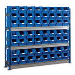 Barton Toprax Longspan Standard Initial Bay with 56 TC5 Bins & 3 Shelves