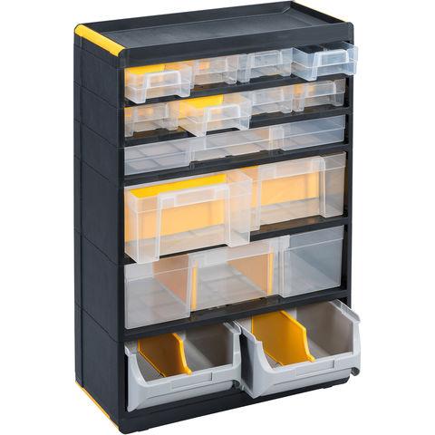 Image of Barton Storage Barton 26 Multi-Drawer Pro + Cabinet x 2